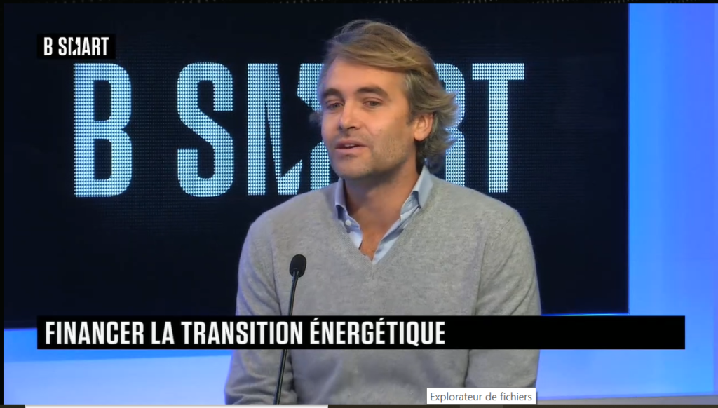On December 7th, Nicolas Rochon was Thomas Hugues' guest on Smart Impact, a daily B Smart TV show dedicated to the challenges of the ecological transition.